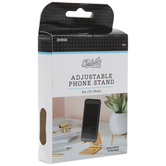 Gold Metal Adjustable Phone Stand