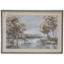 Trees By The River Framed Wall Decor