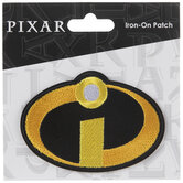 Disney Pixar The Incredibles Logo Iron-On Applique