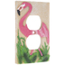 Flamingo Outlet Cover