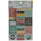 Calendar Foil Stickers