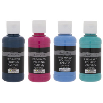 Master's Touch Pre-Mixed Pouring Acrylic Paint Set