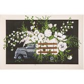 Floral Truck Wood Wall Decor