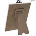 Burlap & Distressed Wood Clip Frame - 4