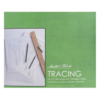"Master's Touch Tracing Paper Pad - 14"" x 17"""