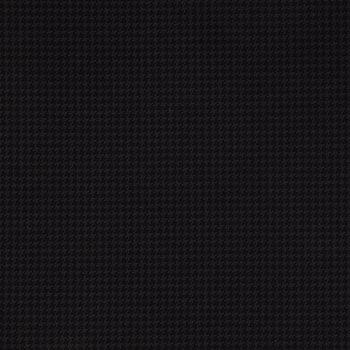 Black & Gray Houndstooth Twill Fabric