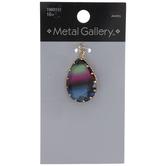 Ombre Teardrop Glass Pendant