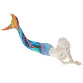 Mermaid With Bright Tail