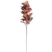 Oak Leaf, Twig & Acorn Branch