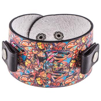 Superman Leather Bracelet