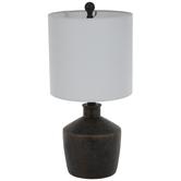 Brushed Patina Urn Lamp