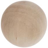 "Round Wood Balls - 1 1/2"""