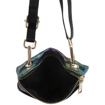 Iridescent Metallic Crossbody Handbag