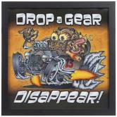 Drop A Gear Lenticular Wood Wall Decor