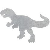 T-Rex Galvanized Metal Wall Decor