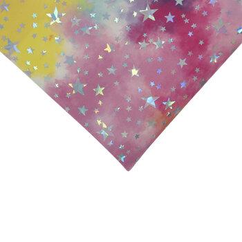 Multi-Color Holographic Stars Felt Sheet