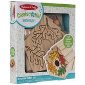 Leaf Birdhouse Wood Kit