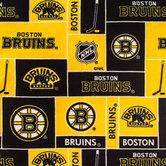 NHL Boston Bruins Fleece Fabric