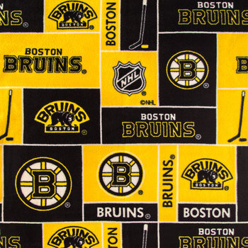 NHL Boston Bruins Fleece Fabric