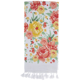 Painterly Floral Kitchen Towel