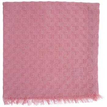 Pink Waffle Woven Cloth Napkin