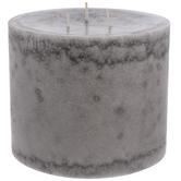 Silver Birch Pillar Candle