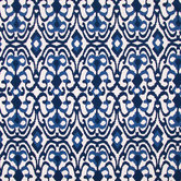Willow Berry Ikat Knit Fabric