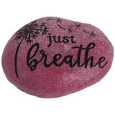 Just Breathe Garden Stone
