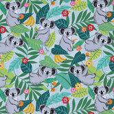 Koala Cotton Calico Fabric
