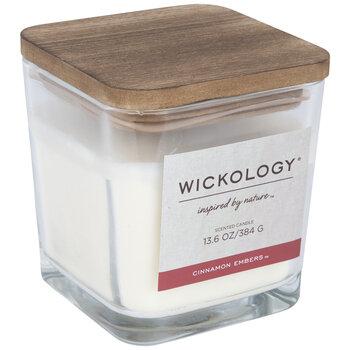 Cinnamon Embers Wood Wick Jar Candle