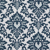 Navy Cecilia Duck Cloth Fabric
