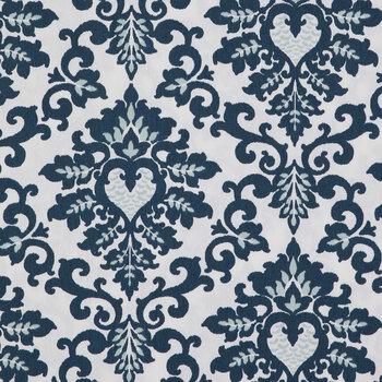 Navy Cecilia Duck Cloth Fabric