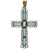 Acrylic Cross Pendant