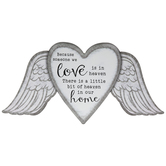 Someone We Love Is In Heaven Metal Sign