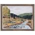Watercolor Rocky River Wood Wall Decor