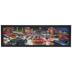 Traffic & Neon Nightlife Lenticular Wood Wall Decor