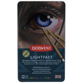 Derwent Lightfast Colored Pencils - 12 Piece Set