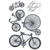 Bike Clear Stamps