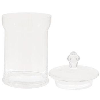 Round Apothecary Glass Jar