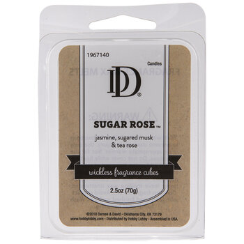 Sugar Rose Fragrance Cubes