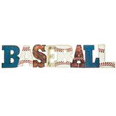 Baseball Metal Sign