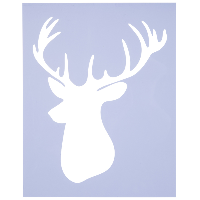 Stags Head Metal Cutting Die Brand New Christmas Shop