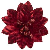 Red Poinsettia Embellishments