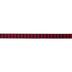 Red & Black Buffalo Check Ribbon - 7/8