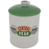 Central Perk Friends Round Cookie Jar