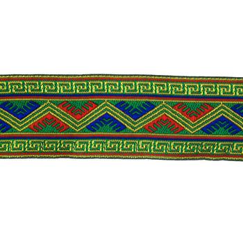 "Ethnic Greek Key Design Decorative Trim - 2"""