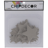 Star Chipboard Shapes