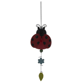Ladybug Bell Wind Chime
