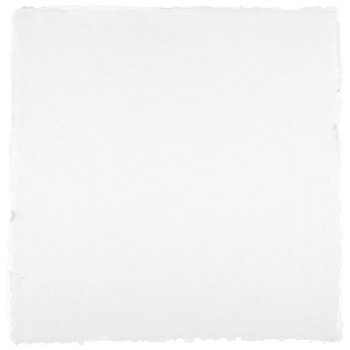 """White Handmade Scrapbook Paper - 12"""" x 12"""""""