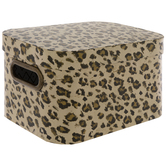 Leopard Print Rectangle Box